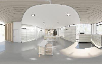 Render 3D, vídeo 360º y arquitectura